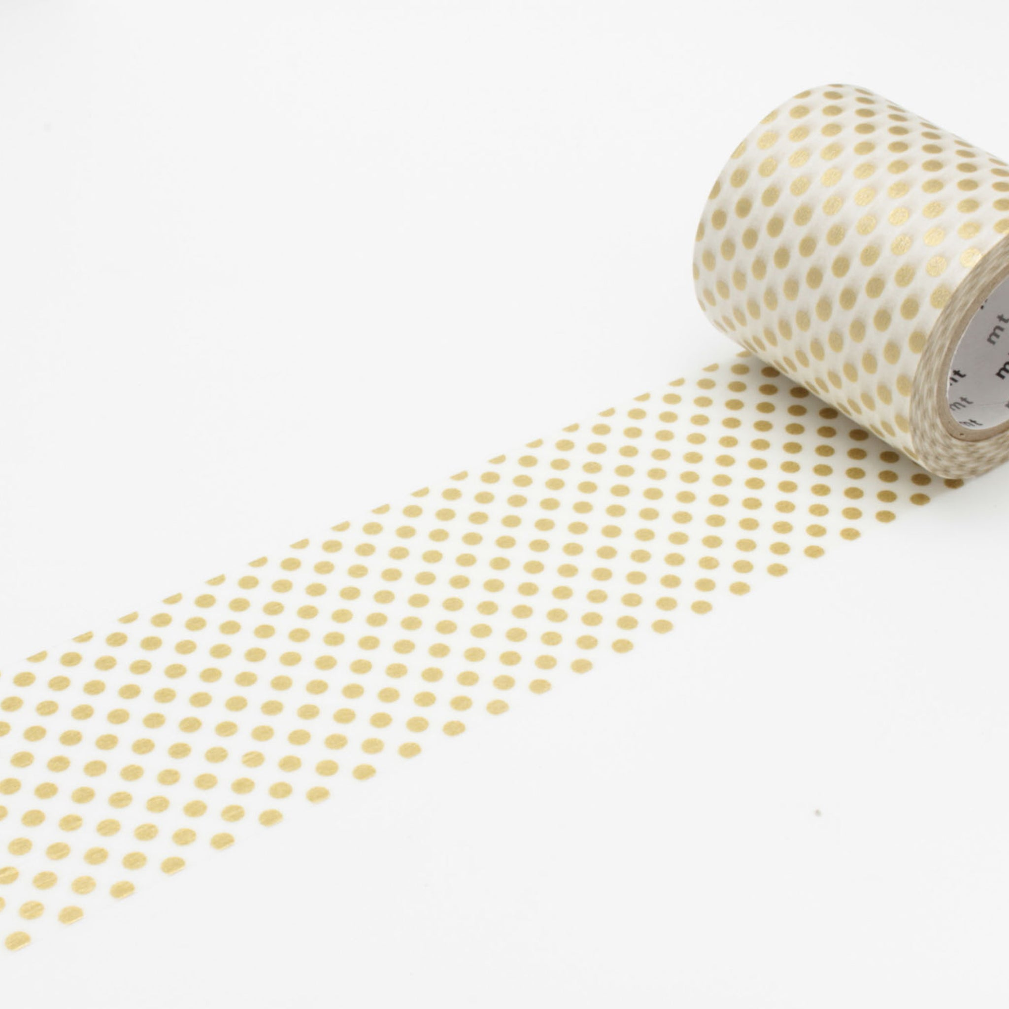 (DC) MT Casa 50mm Washi Tape Dot Gold
