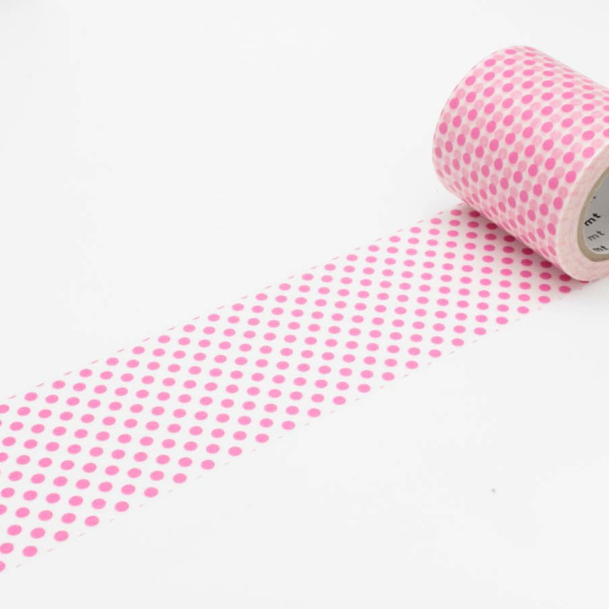 (DC) MT Casa 50mm Washi Tape Dot Pink