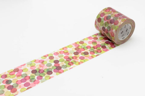 mt Casa 50mm Spot Wine wide washi tape