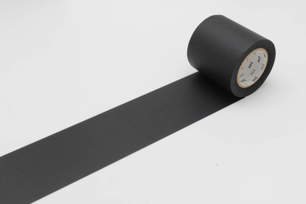 mt Casa 50mm Matte Black wide washi tape (MTCA5085) | Washi Wednesday