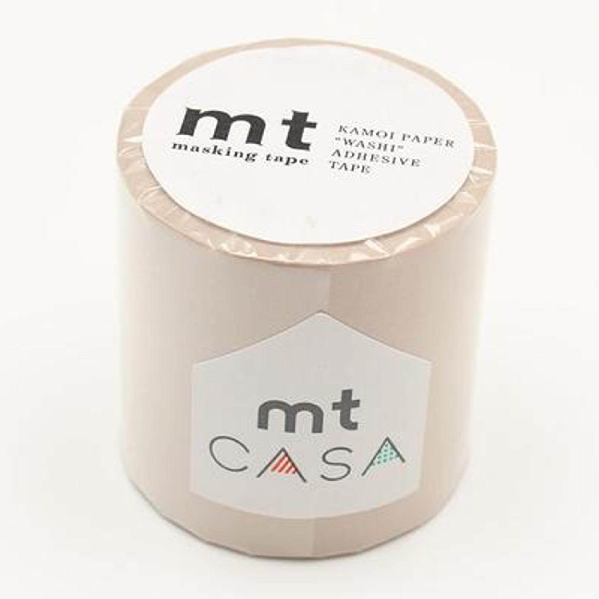 MT Casa 50mm Washi Tape Pastel Brown