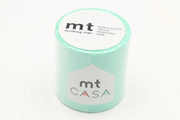 mt Casa 50mm Pastel Emerald wide washi tape (MTCA5099) | Washi Wednesday