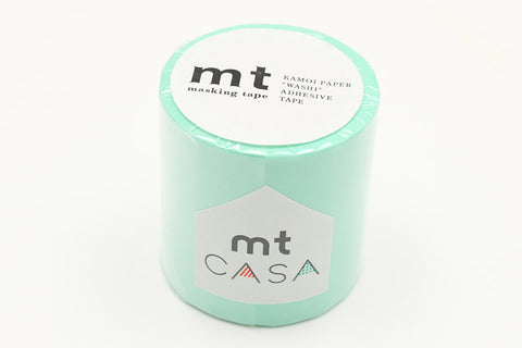 mt Casa 50mm Pastel Emerald wide washi tape