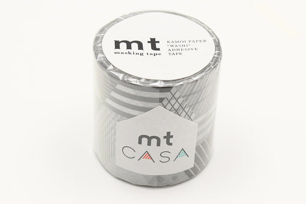 mt Casa 50mm Box Monochrome wide washi tape (MTCA5117) | Washi Wednesday
