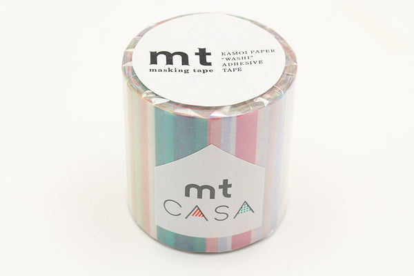mt Casa 50mm Multi Border Pastel wide washi tape (MTCA5121) | Washi Wednesday