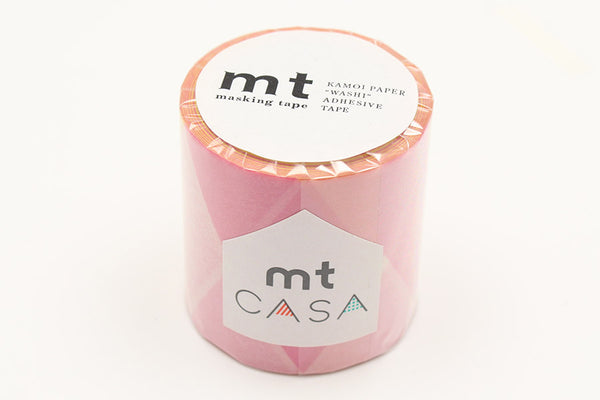 mt Casa 50mm Triangle And Diamond Pink wide washi tape (MTCA5123) | Washi Wednesday