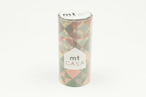 mt Casa Deco - Tile Pattern wide washi tape