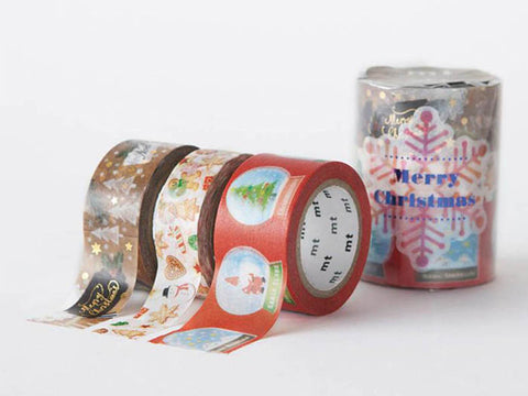 mt 2016 Christmas washi tape set A