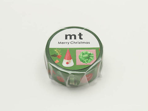 mt Red and Green washi tape