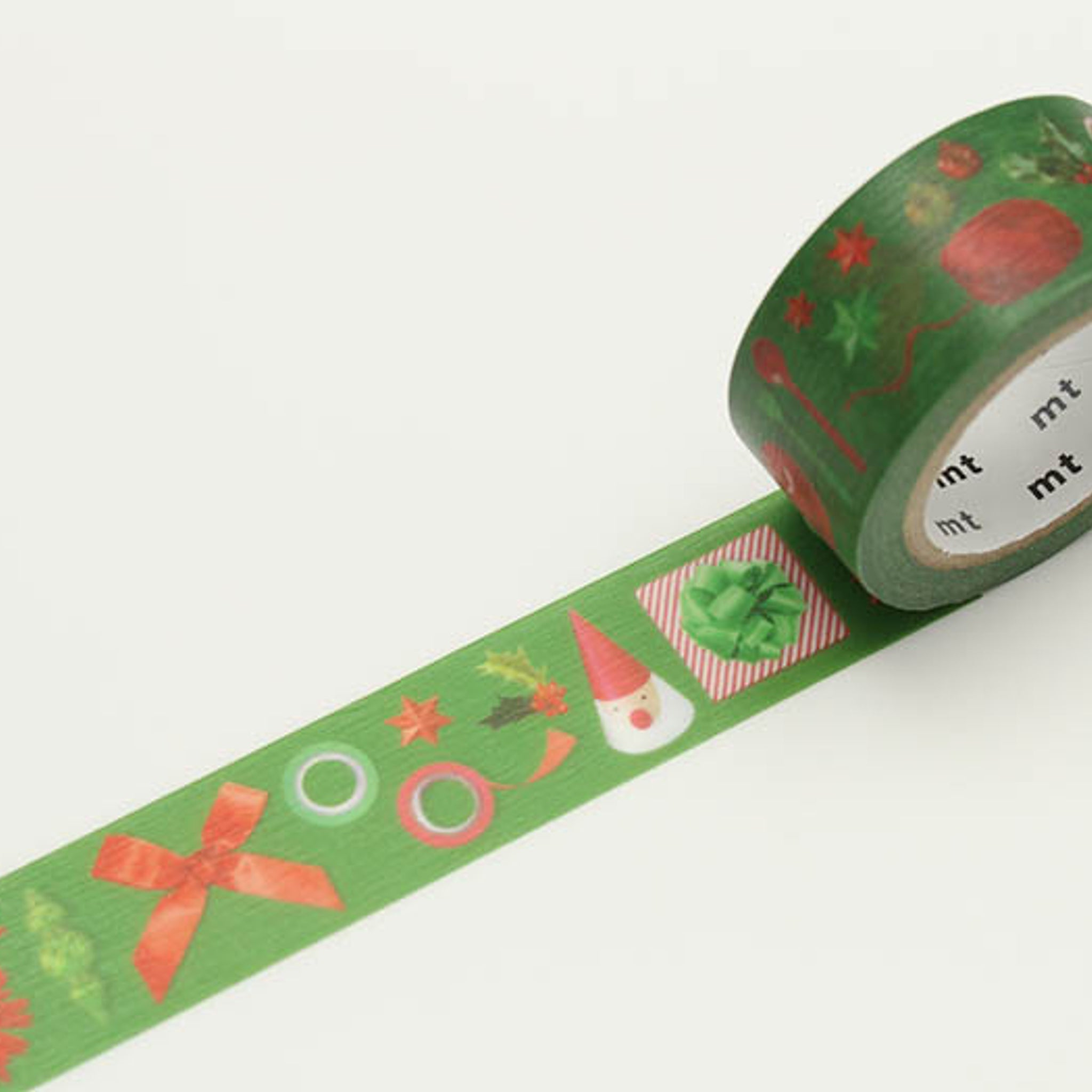 (DC) MT Christmas 2016 Washi Tape Red And Green