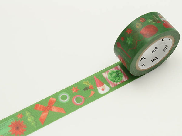 mt Red and Green washi tape(MTCMAS71) | Washi Wednesday