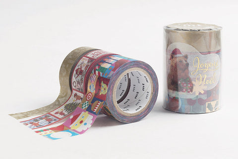 mt 2017 Christmas washi tape set C