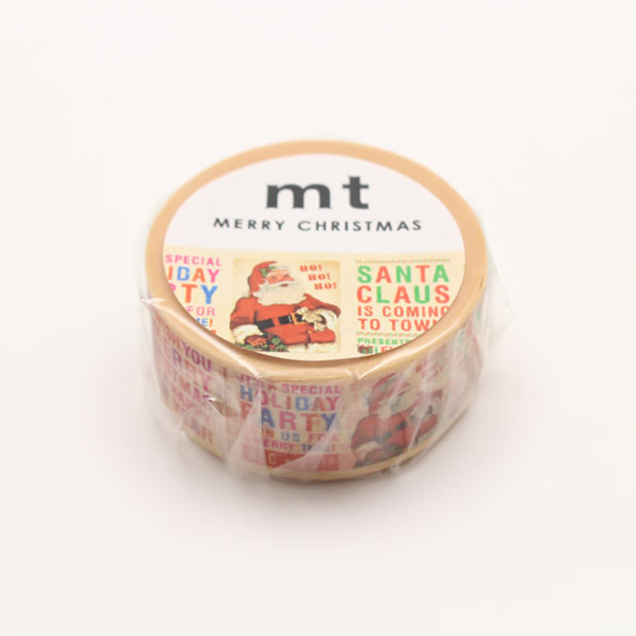 (DC) MT Christmas 2017 Washi Tape Christmas News