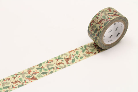 mt Forest Christmas washi tape