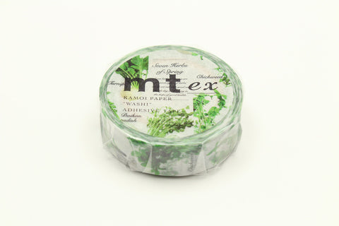 mt Seven Herbs Of Spring Washi Tape