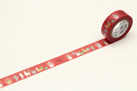 mt Cheeky Little Llama Washi Tape