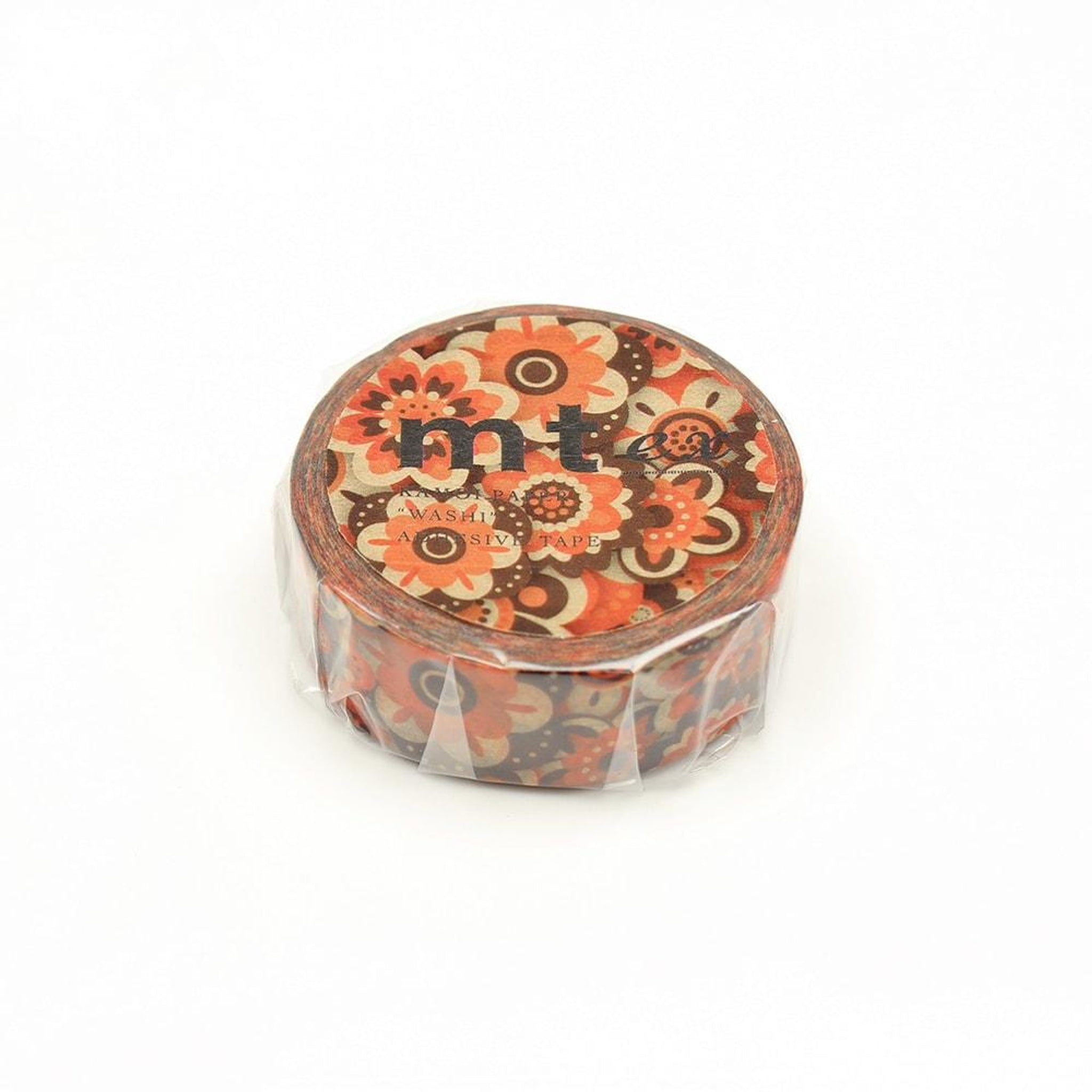 MT EX Washi Tape Layered Of Flower