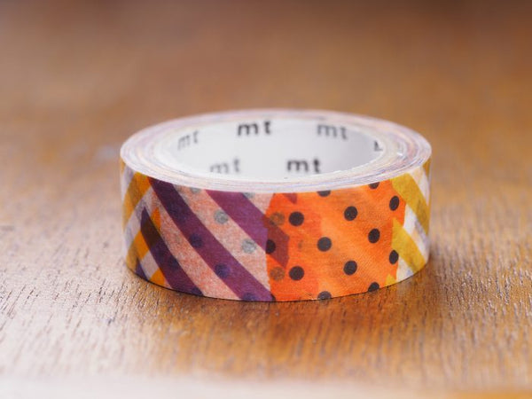 mt Halloween Patchwork washi tape(MTHALL04) | Washi Wednesday