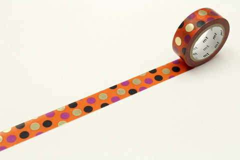 mt Halloween 2018 Color Dot washi tape
