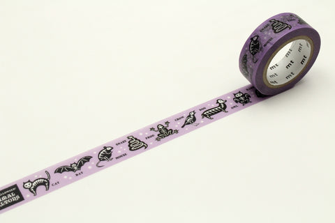 mt Halloween 2018 Animal Skeleton washi tape