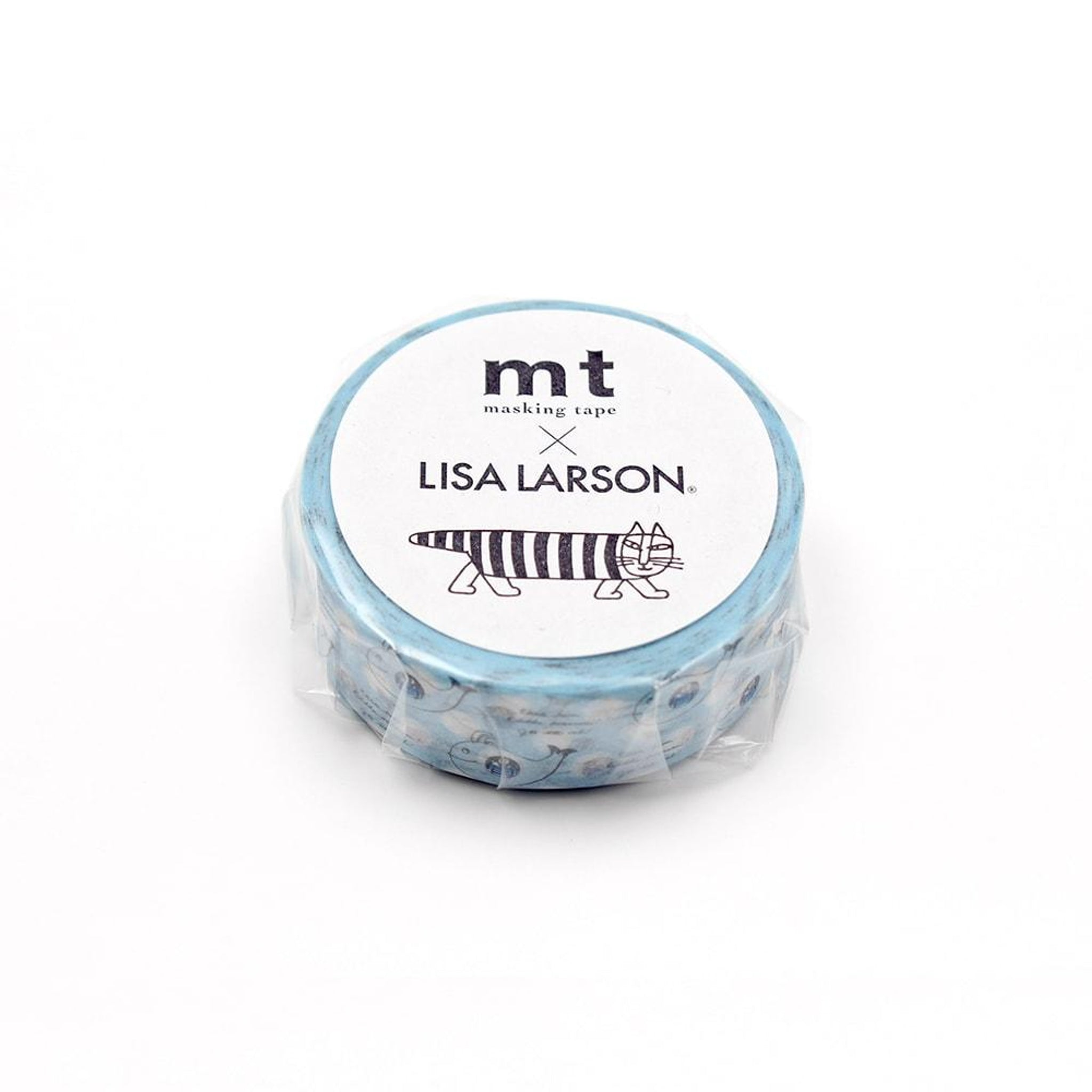 MT x Lisa Larson Washi Tape Jonah