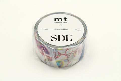 mt x SDL Human Being Washi Tape