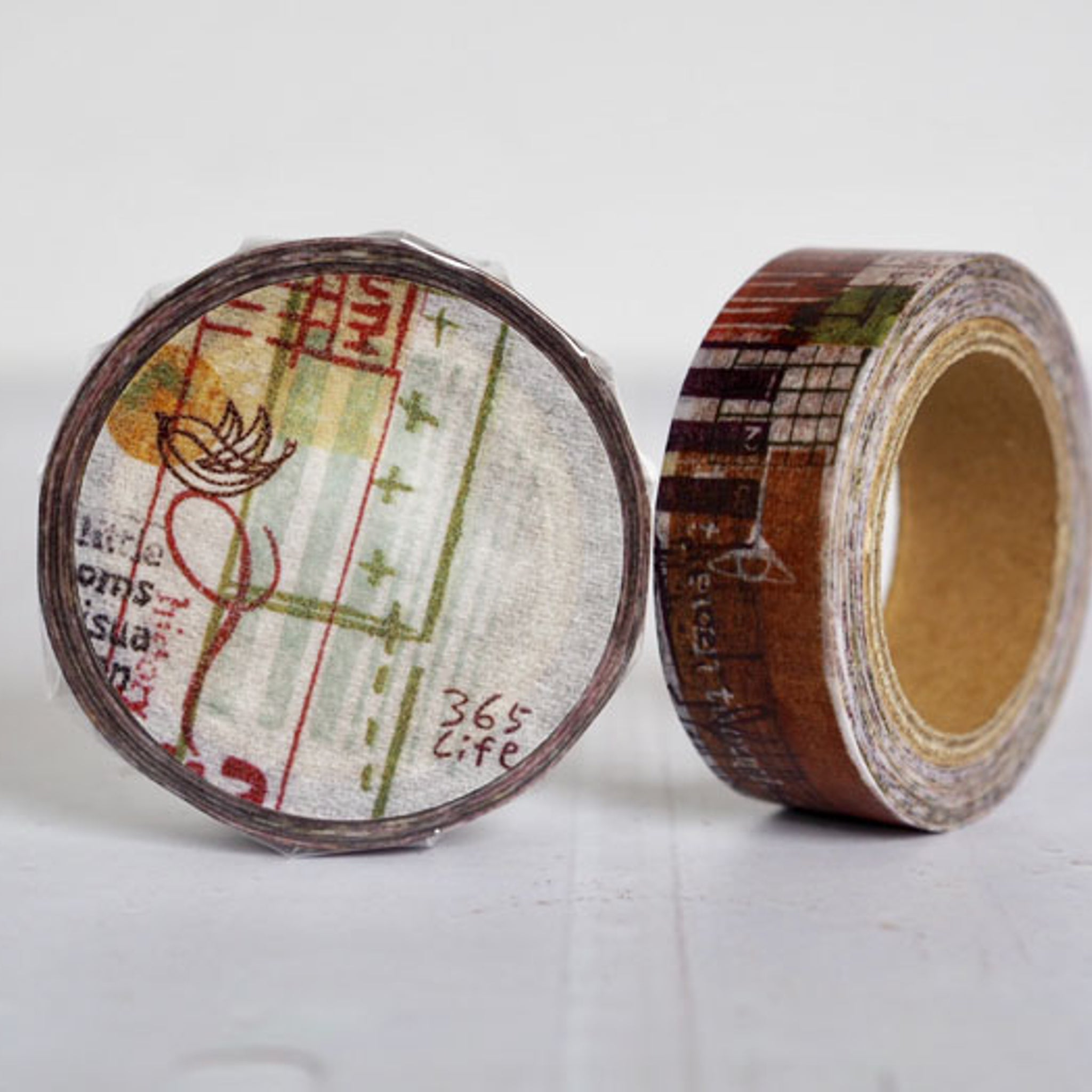 Round Top x ChamilGarden Steps Washi Tape