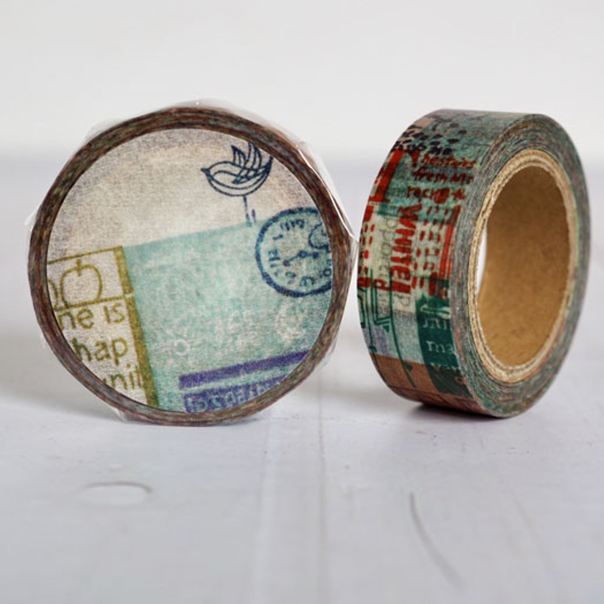 Round Top x ChamilGarden Green Day Washi Tape