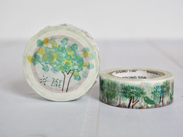 Round Top x ChamilGarden Love Tree Washi Tape (MTW-1309-016) | Washi Wednesday