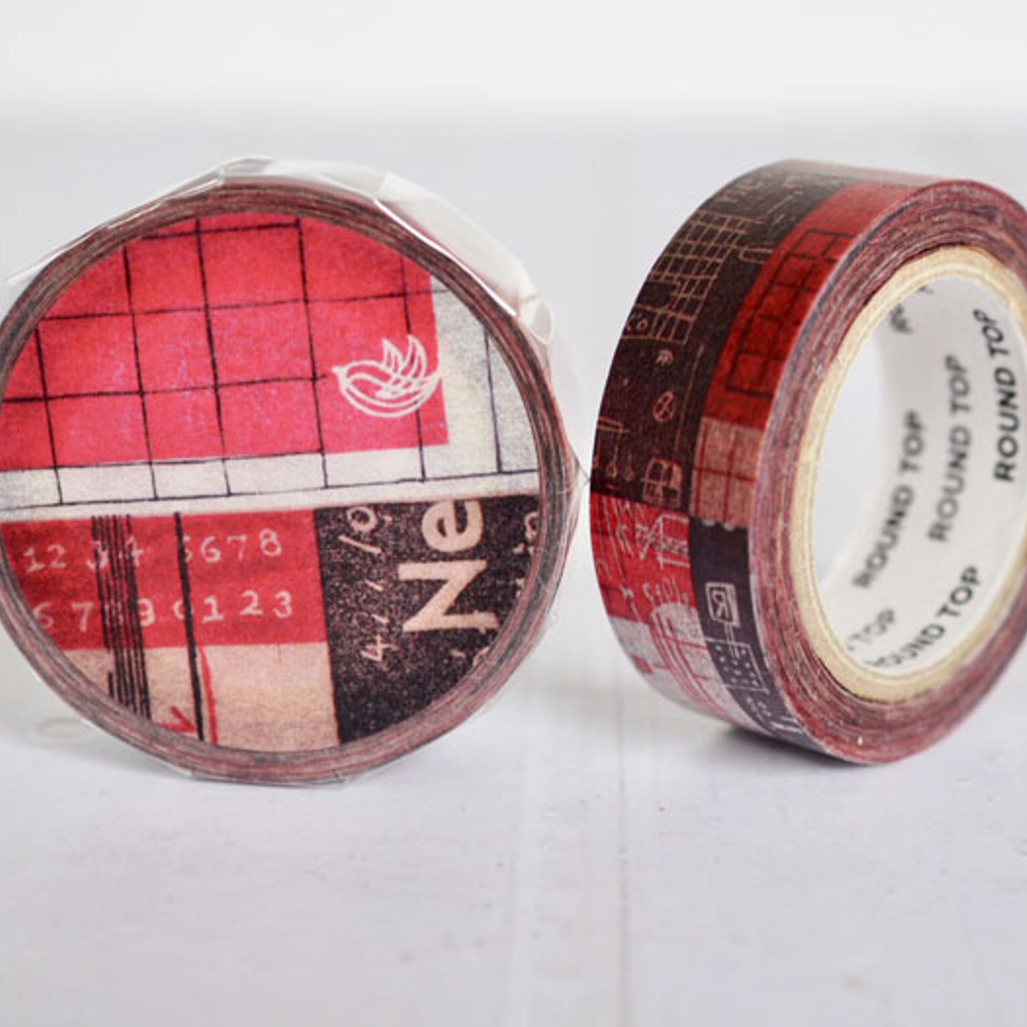 Round Top x ChamilGarden Daily Washi Tape