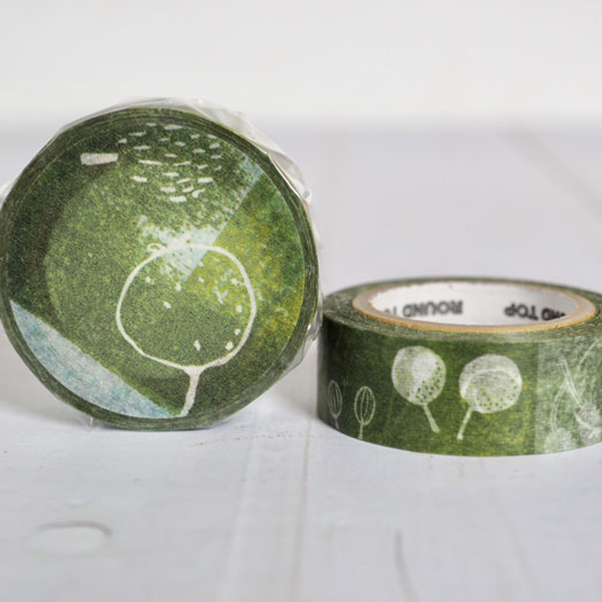 Round Top x ChamilGarden Fruit Washi Tape