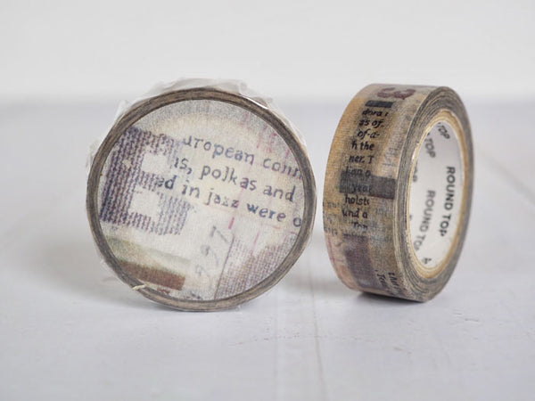 Round Top x ChamilGarden Canvas Washi Tape (MTW-CH032) | Washi Wednesday