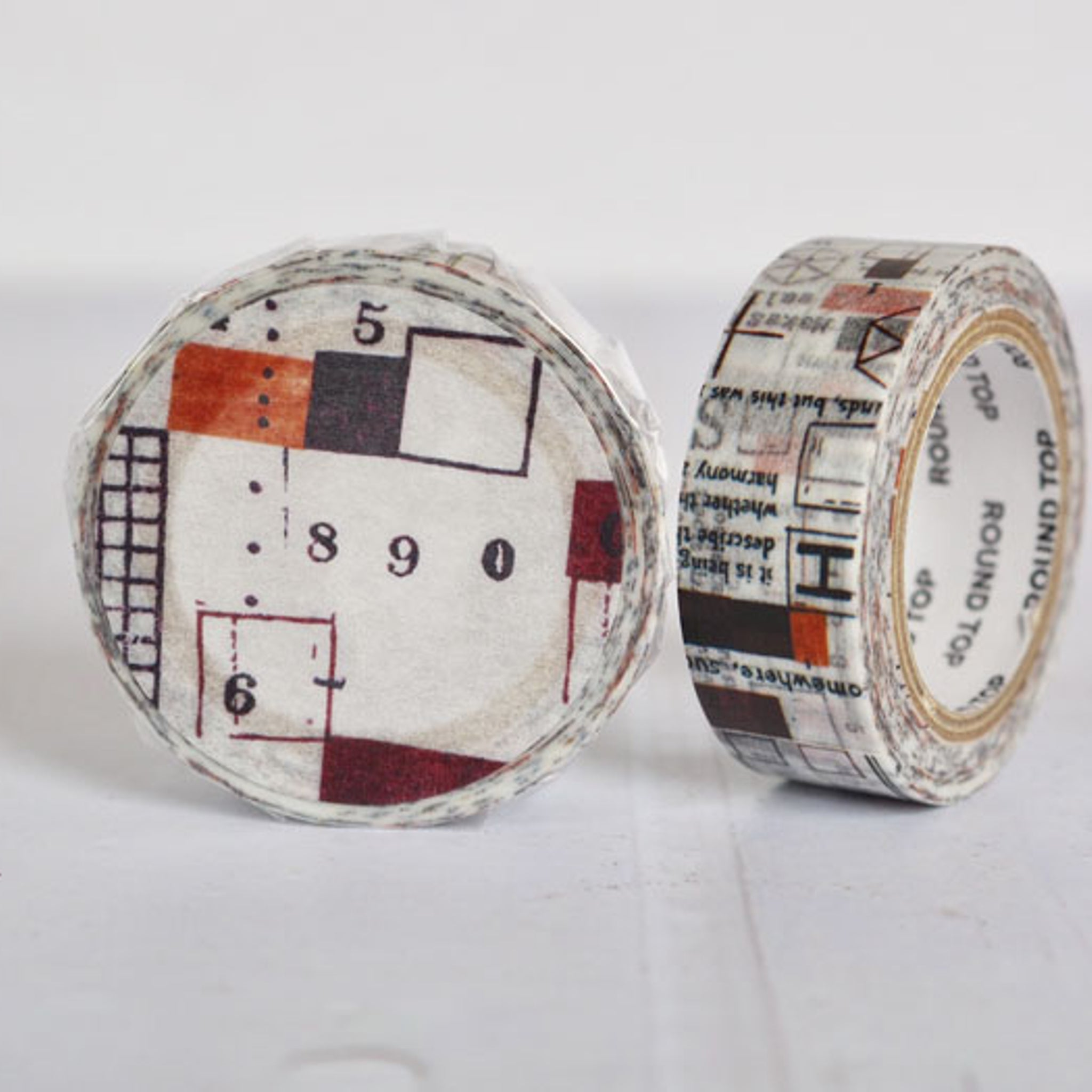Round Top x ChamilGarden Sleeve Washi Tape