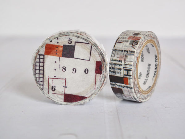 Round Top x ChamilGarden Sleeve Washi Tape (MTW-CH033) | Washi Wednesday