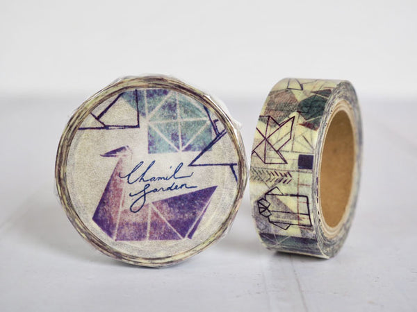 Round Top x ChamilGarden Paper Folding Washi Tape (MTW-CH034) | Washi Wednesday