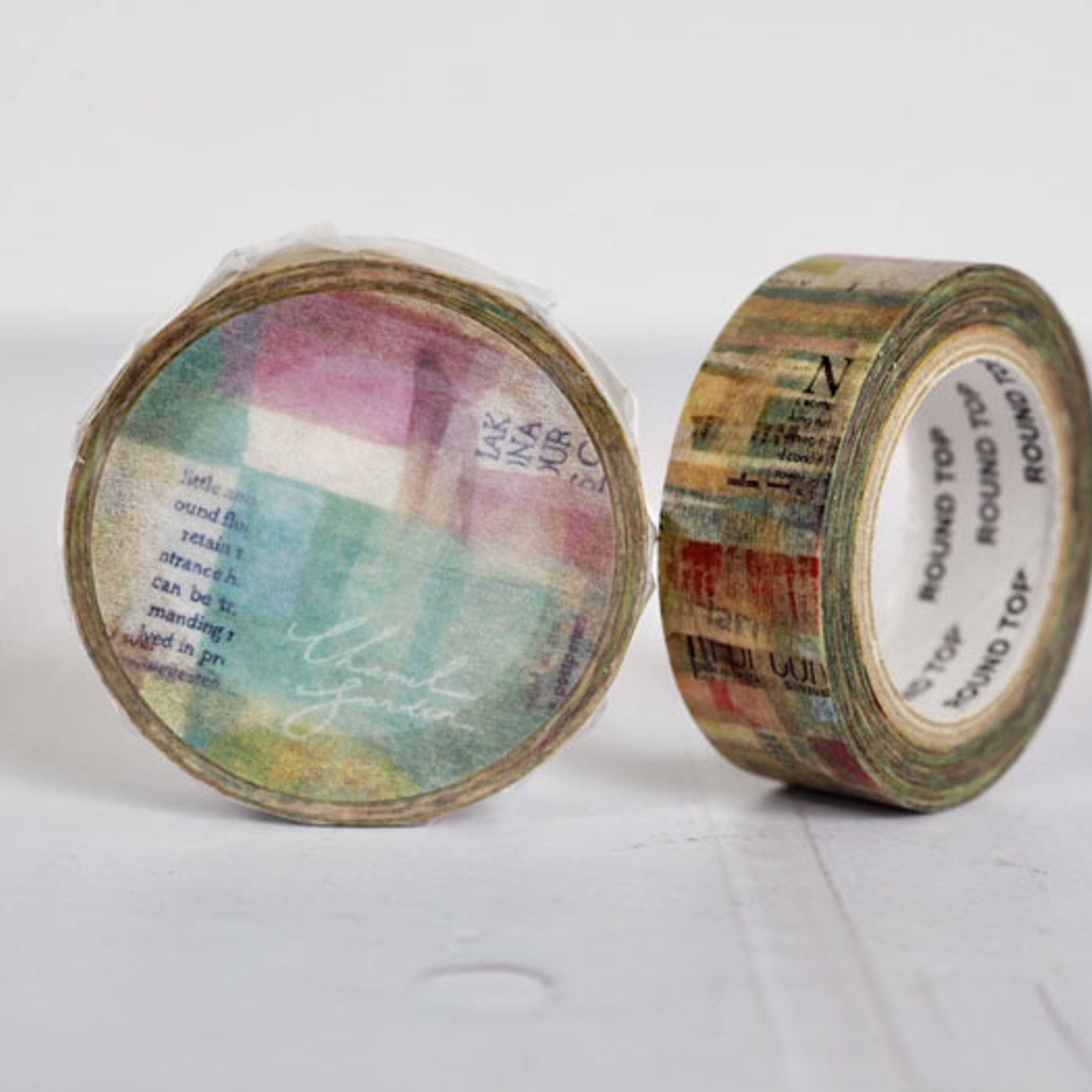 Round Top x ChamilGarden Simple Life Washi Tape