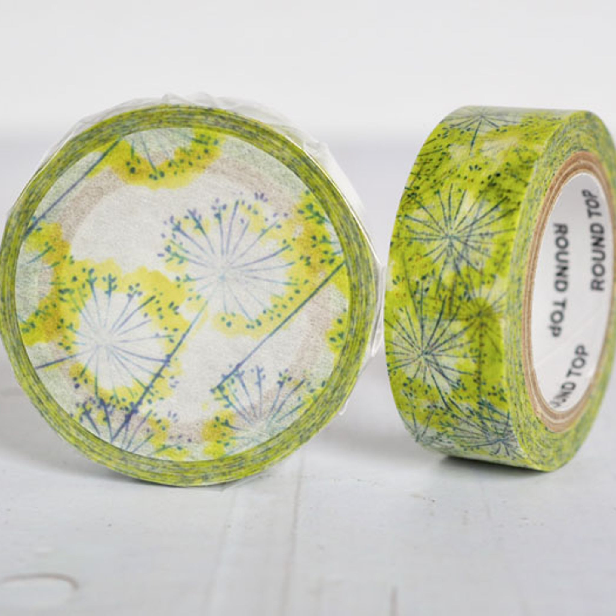 Round Top x ChamilGarden Fennel Washi Tape