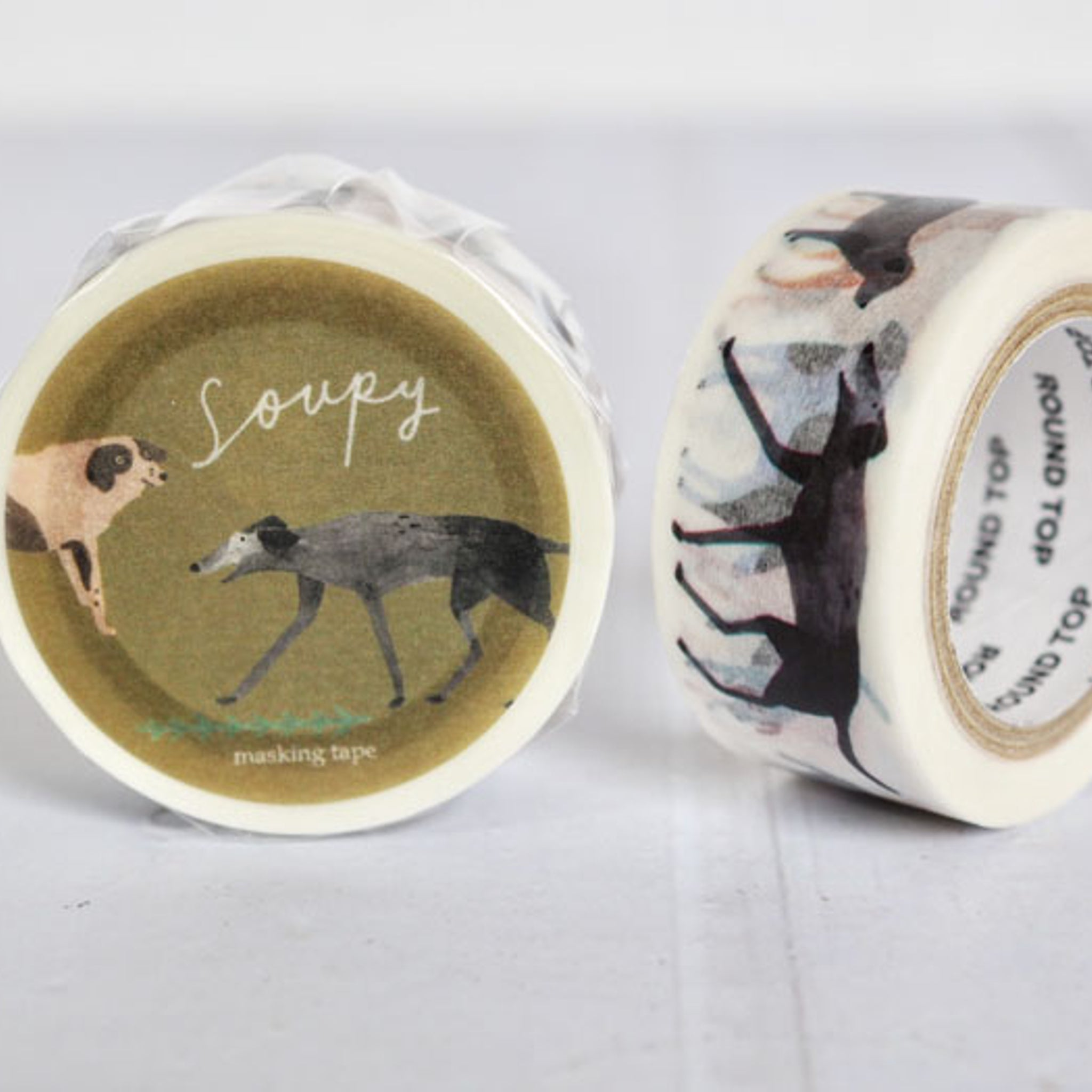 Round Top x Soupy Tang Dog Washi Tape