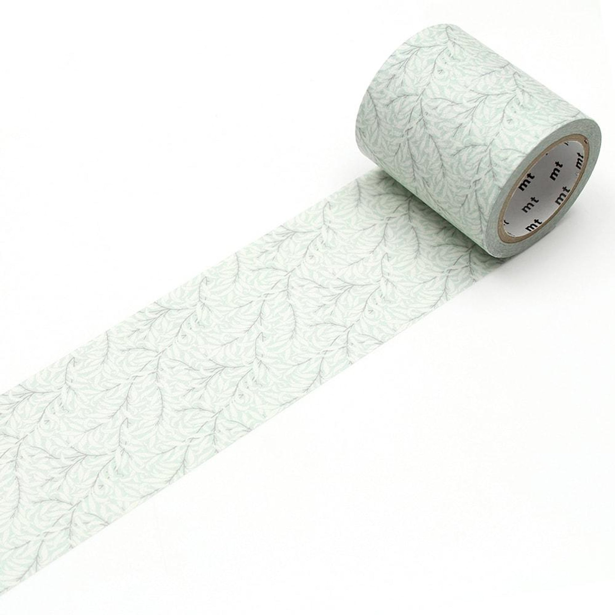 MT x William Morris Washi Tape Pure Willow Bough Eggshell/Chalk