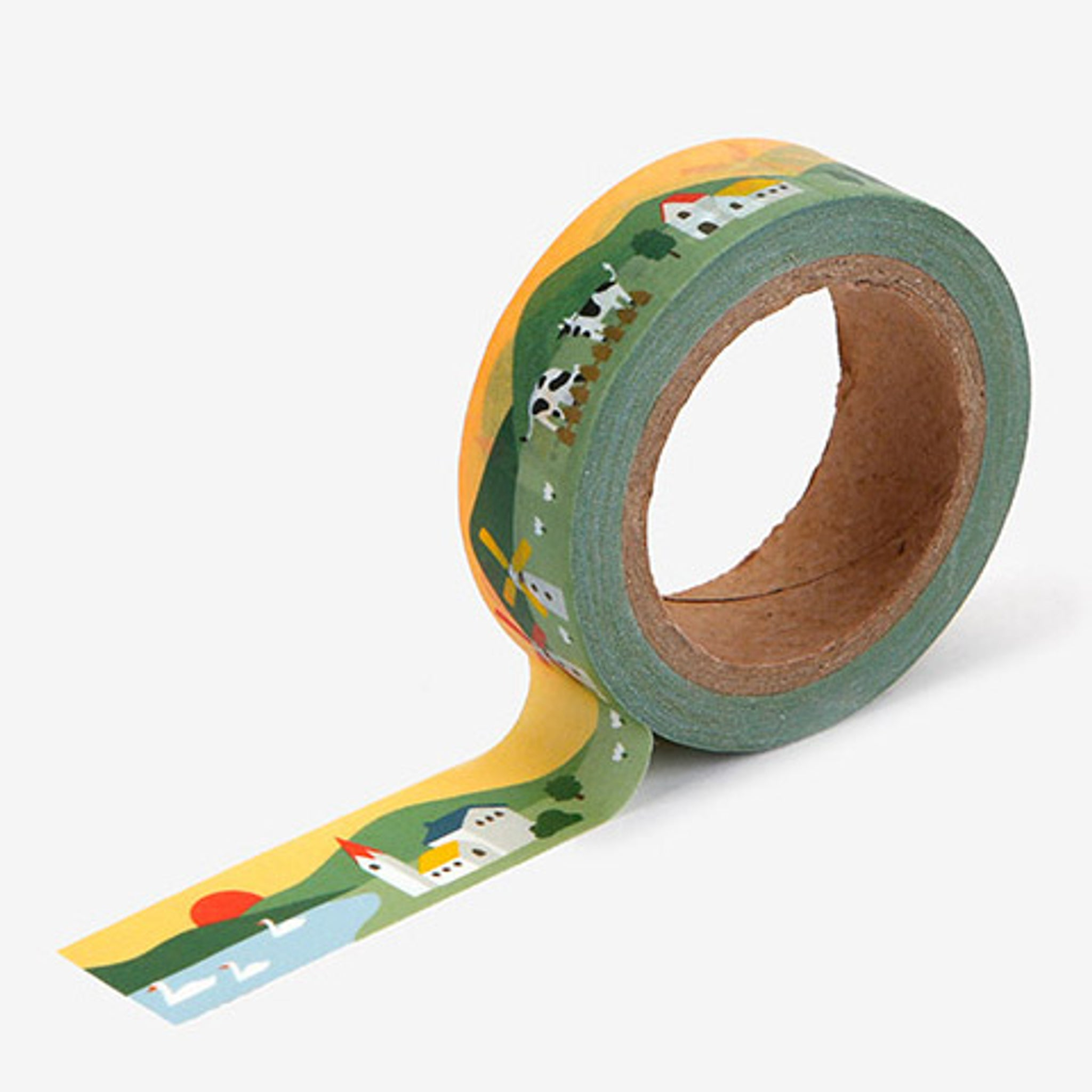 Dailylike Masking Tape 15mm - 118 Village