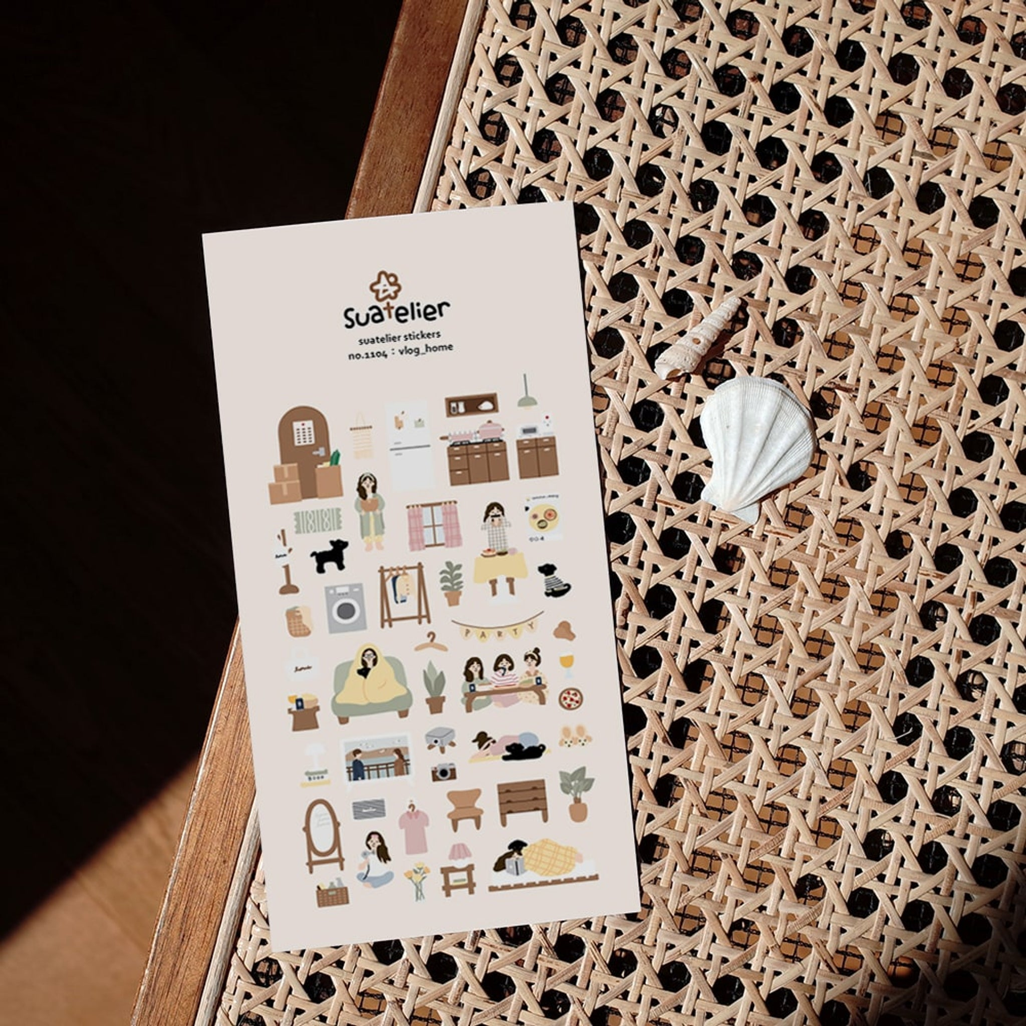 Suatelier Vlog_Home Sticker