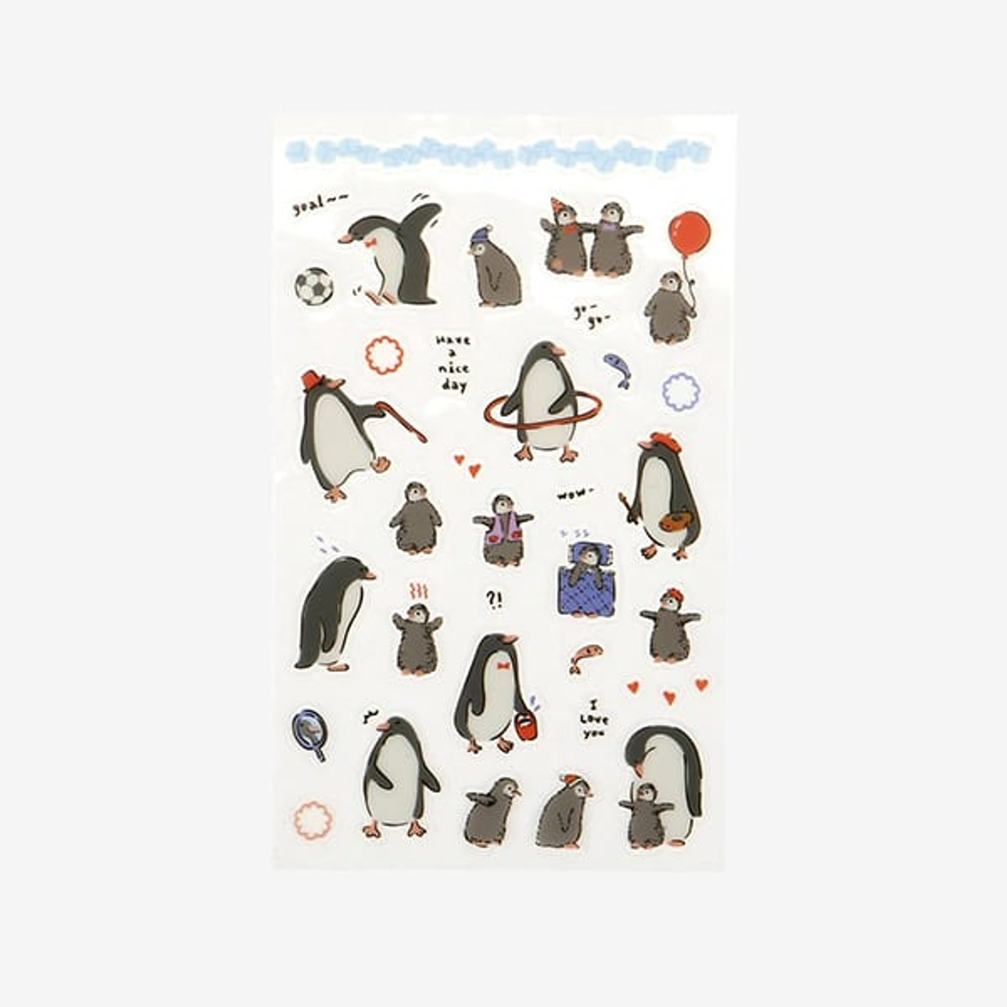 Dailylike Daily sticker - 53 Penguin