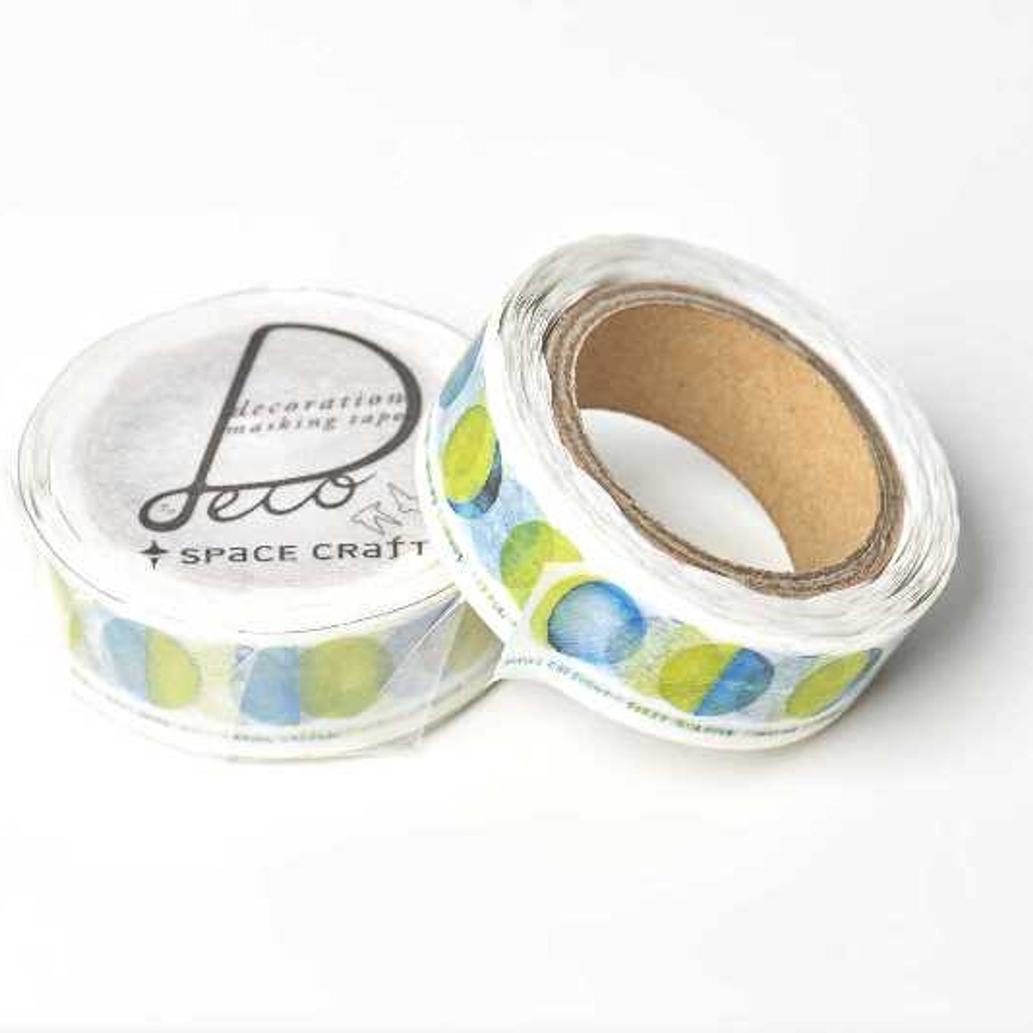 Round Top x Space Craft Washi Tape Moon
