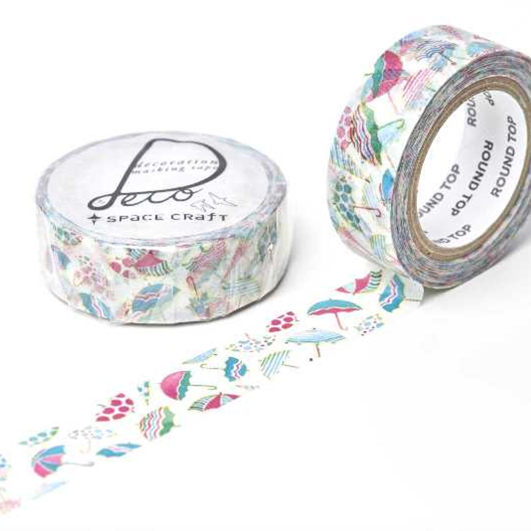 Round Top x Space Craft Washi Tape Umbrella