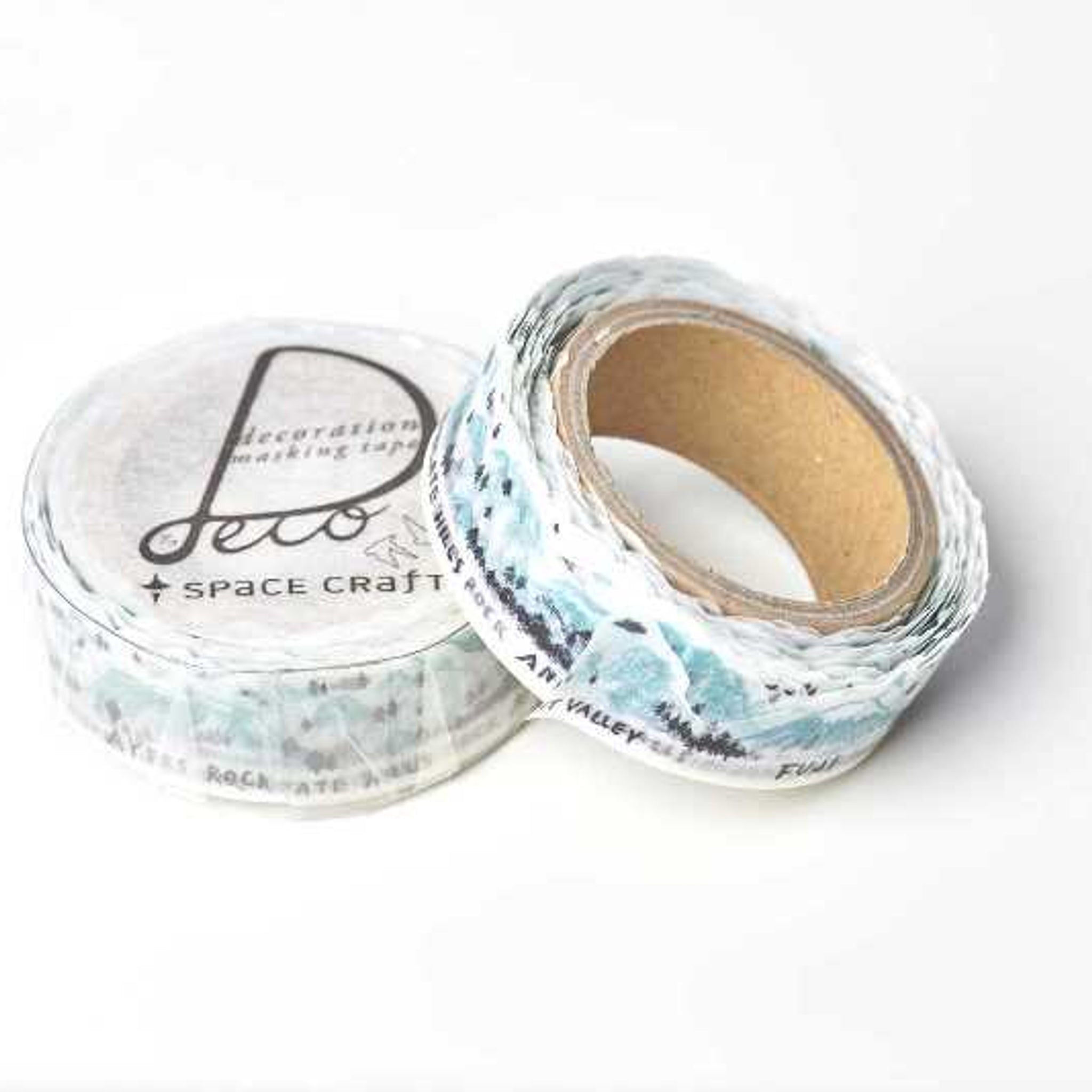 Round Top x Space Craft Washi Tape Best View Of The World