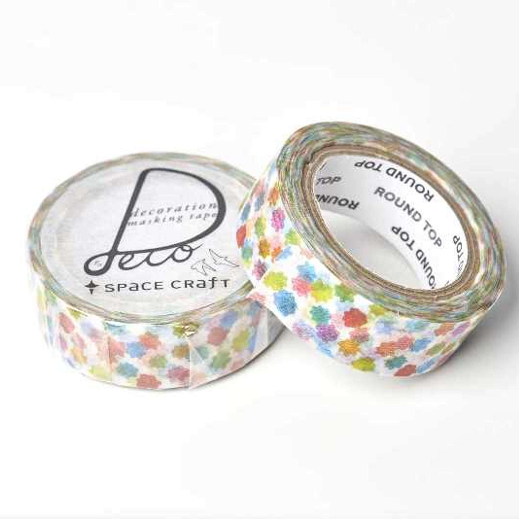 Round Top x Space Craft Washi Tape Confetti