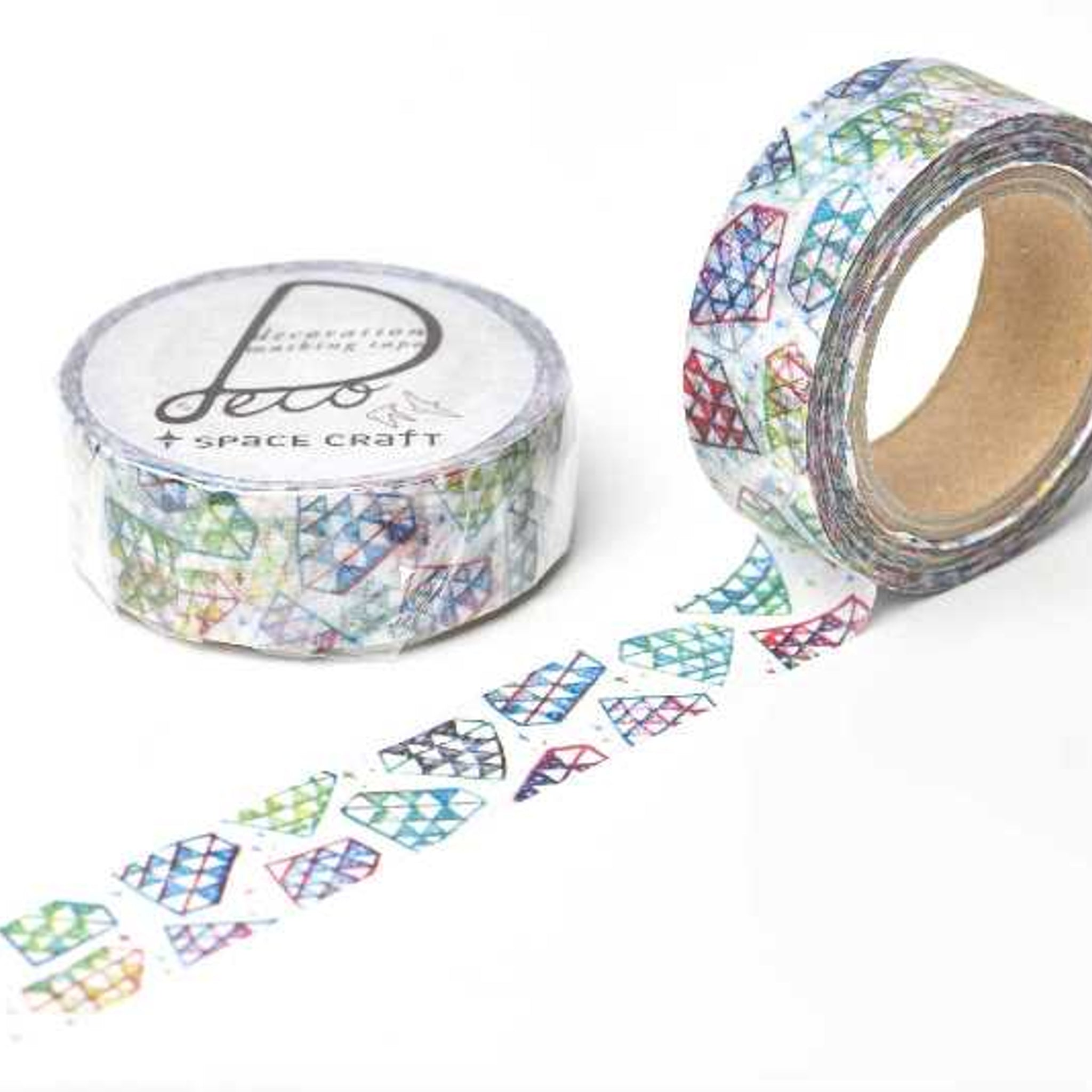 Round Top x Space Craft Washi Tape Diamond
