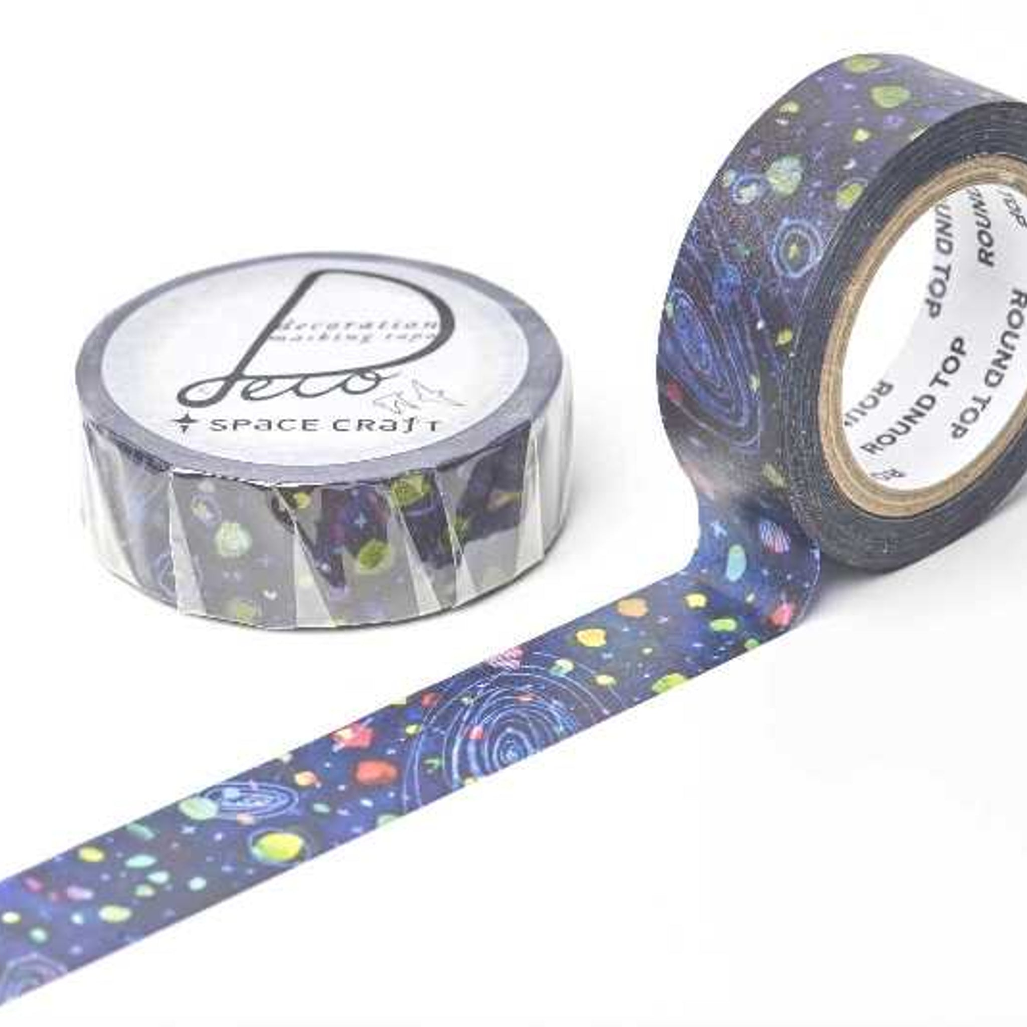 Round Top x Space Craft Washi Tape Space