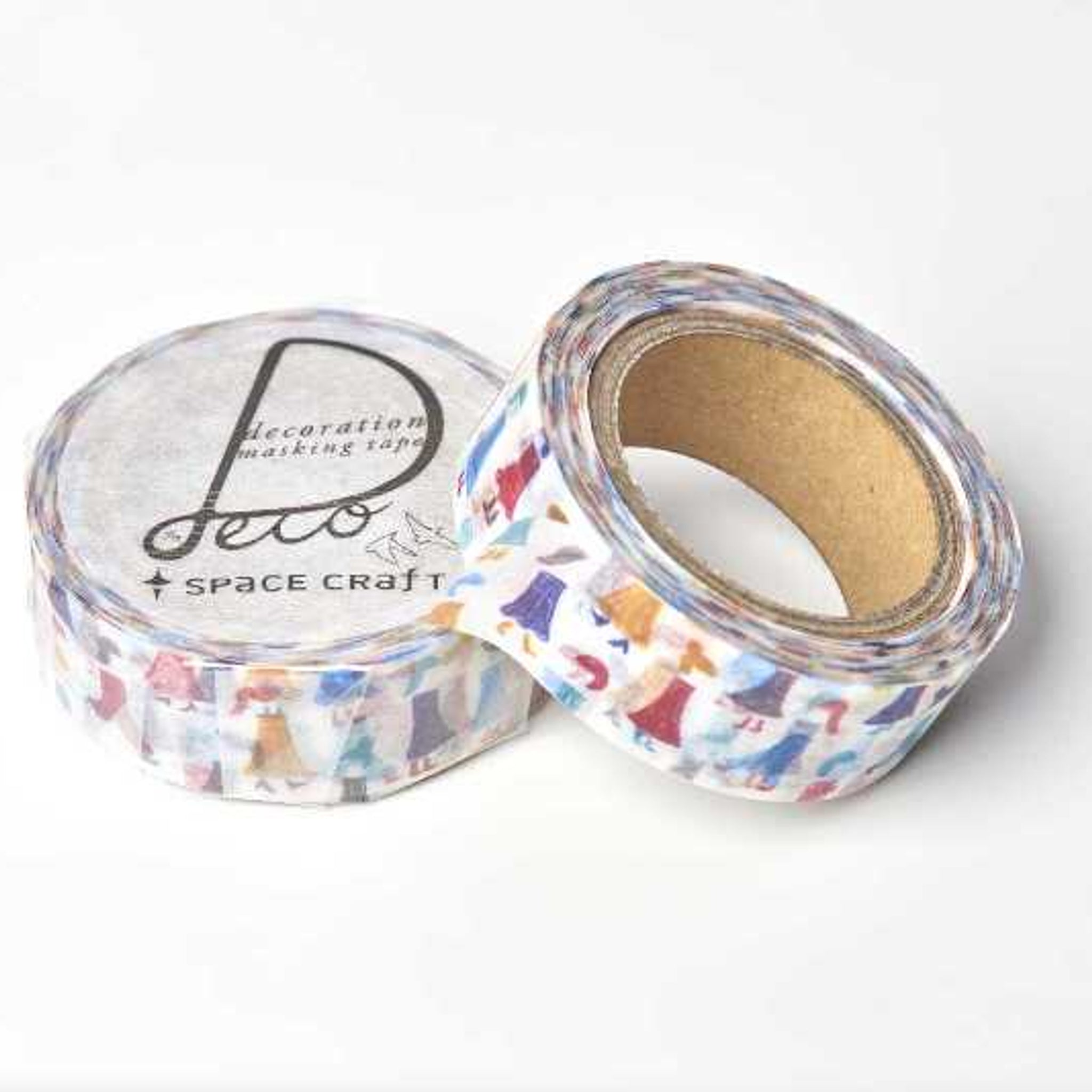 Round Top x Space Craft Washi Tape Girl