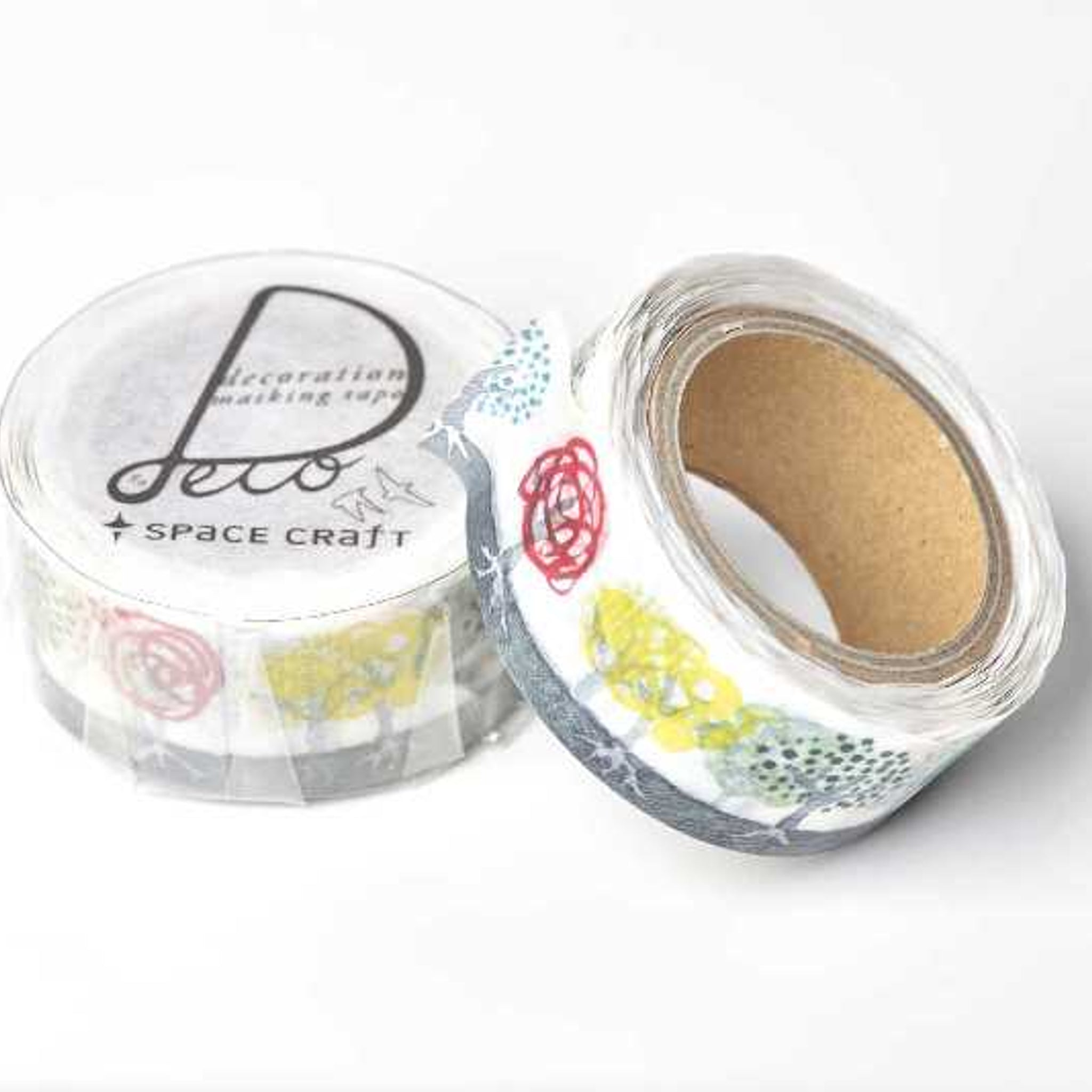 Round Top x Space Craft Washi Tape Grove